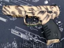 Alarm pistool in dieren print
