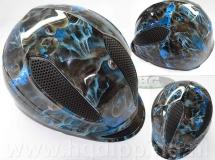 Hydrographics, helm, skulls SK-051
