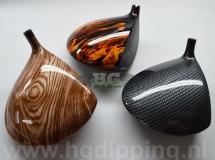 Verschillende golf clubs