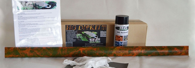 Hydrodipping kit