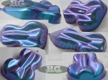 Cameleon blauw paars