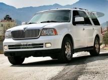Lincoln Navigator wit glans + blanke lak