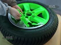 Velg Neon Groen