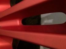 Velg rood plastic dip