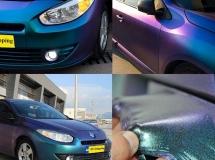 sparkling-plastic dip car